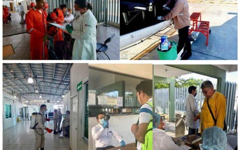 Saneamiento en centros PEMEX en Sonda de Campeche