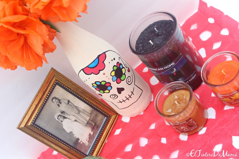 American_Home_Yankee_candle_Walmart_Dia_de_Muertos_Ofrenda_altar