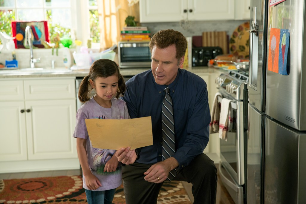 Scarlett Estevez plays Megan and Will Ferrell plays Brad in Daddy's Home from Paramount Pictures and Red Granite Pictures