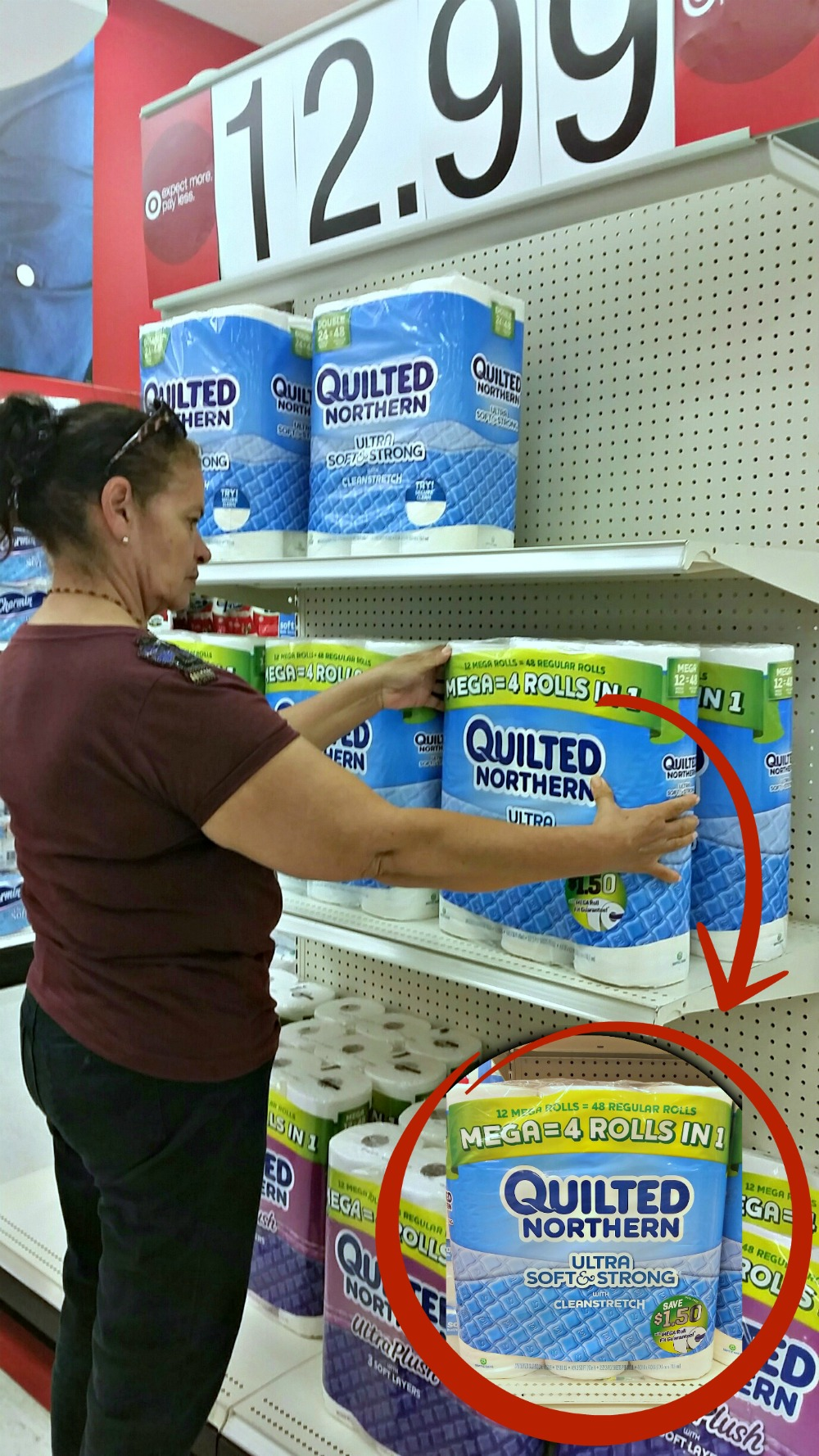 Quilted_Northern_at_Target_for_Back_to_School