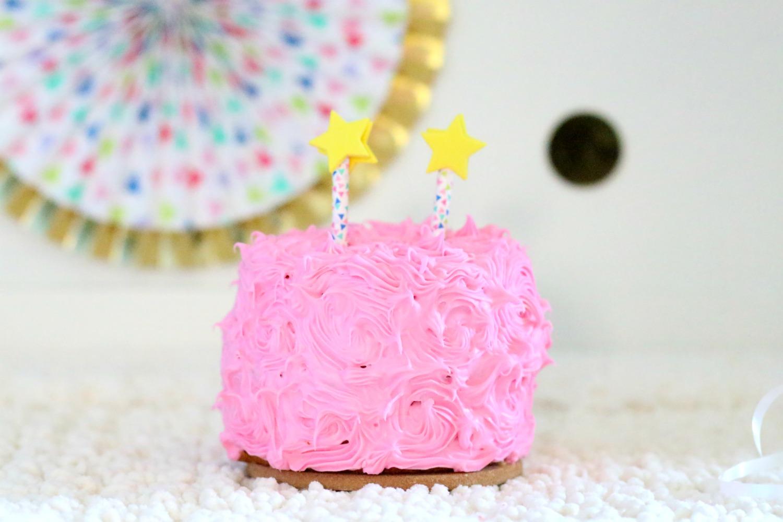 Pastel smash cake