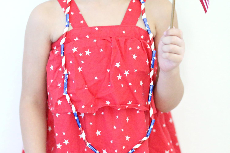 Collares patrióticos para celebrar el 4 de julio