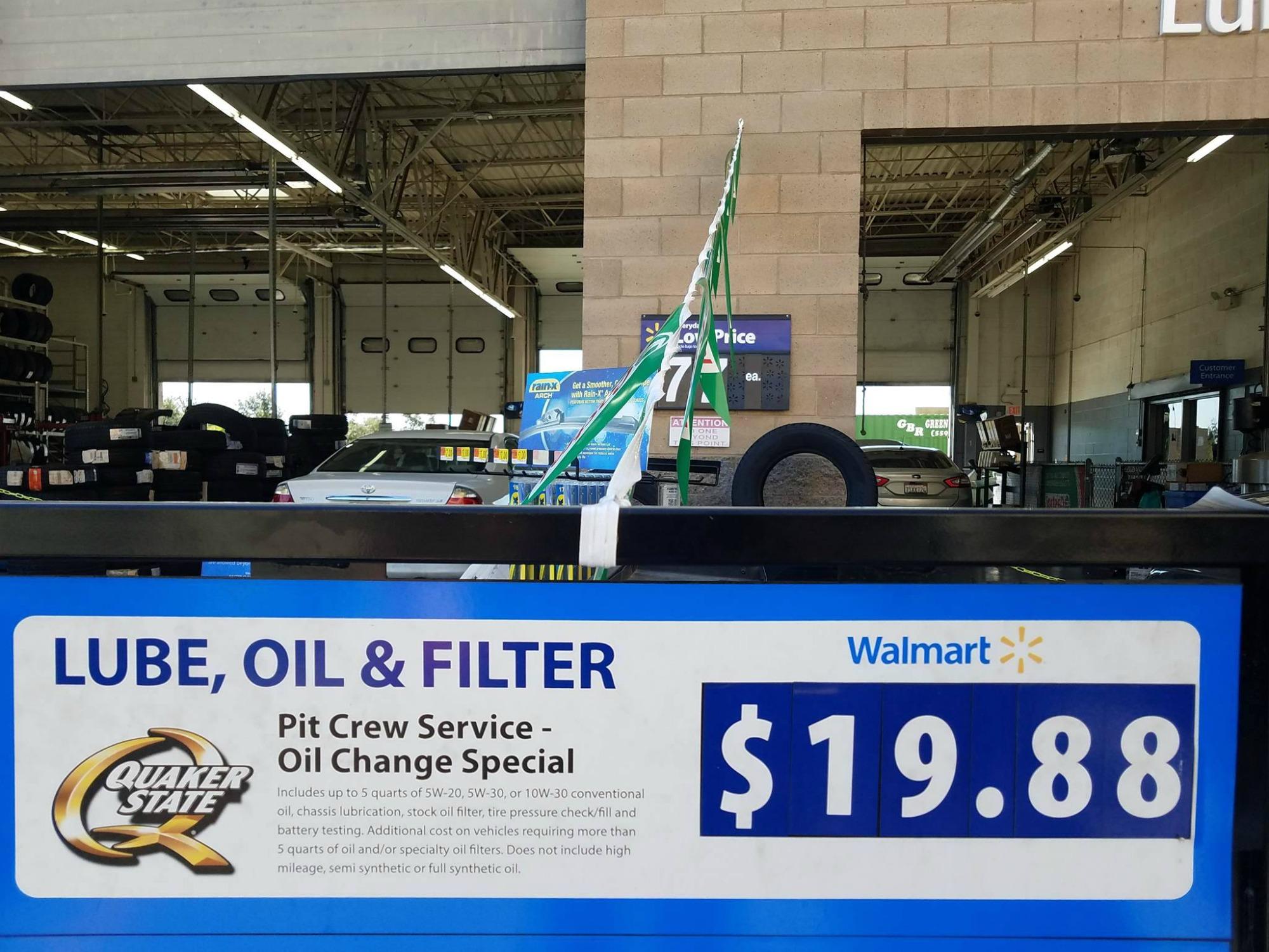 Walmart Car Service Center: Tips Para Ahorrar Dinero Y Tiempo En El Cambio De Aceite