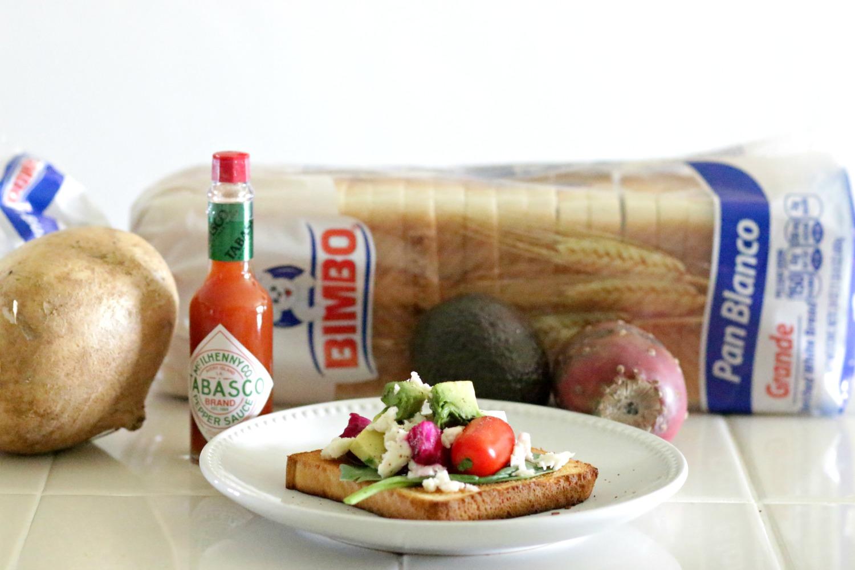 Avocado-Mexican-Salad-Toast