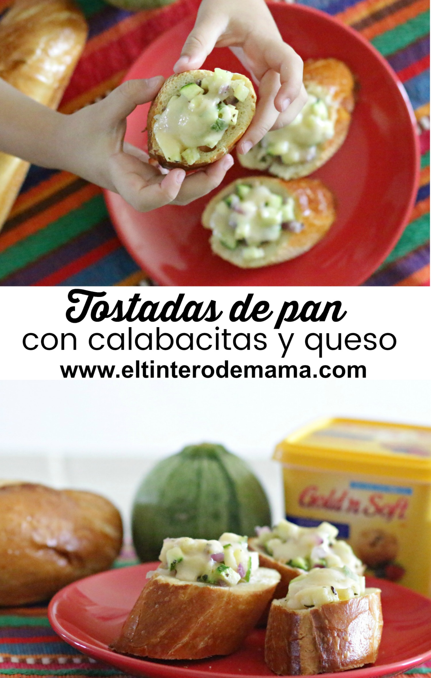 Tostadas-de-pan-con-calabacitas-y-queso-recipe