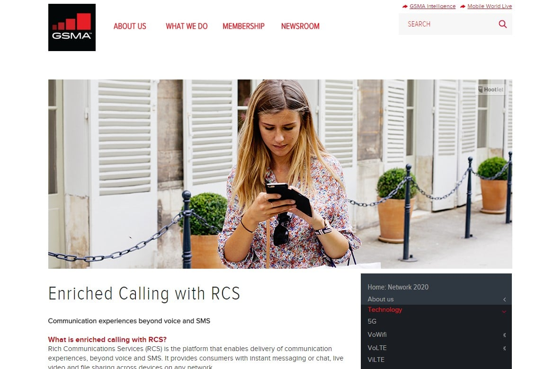 Rich Communications Services GSMA Google
