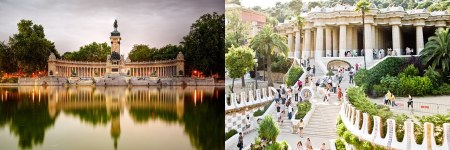 Retiro- madrid vs barcelona