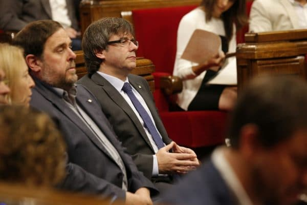 esobediencia del Parlament al TC