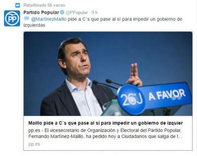 investidura de Rajoy