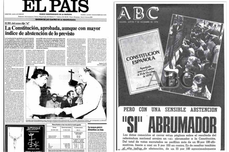 Reformar la constitución española
