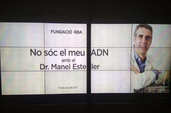 No soy mi ADN Dr Manuel Esteller
