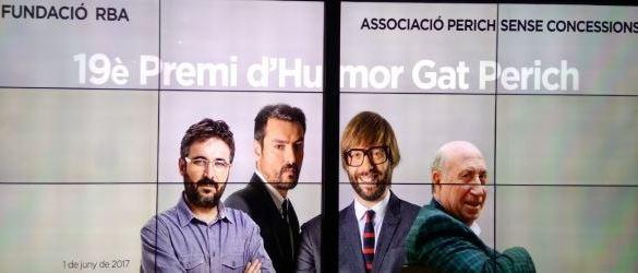 Peridis recibe el Premio Internacional de Humor Gat Perich