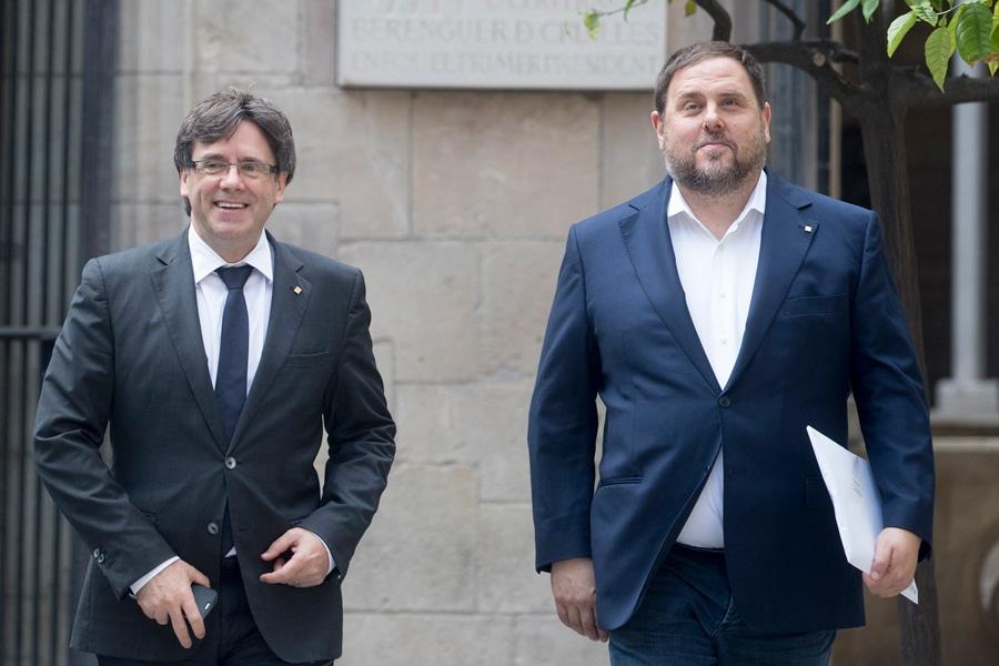 ¿Estás de acuerdo en añadir el delito de sedición (10 años) a Puigdemont y sus secuaces si consuman el 1-O?