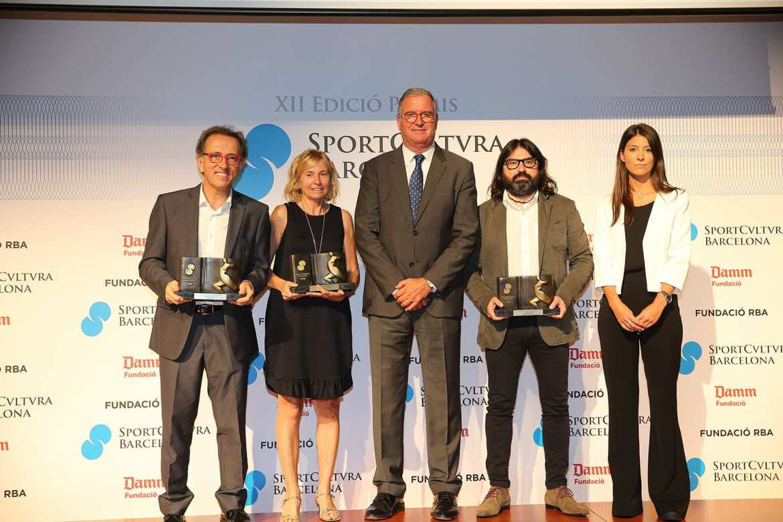XII Entrega de los premios Sport Cultura Barcelona