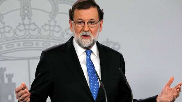 eacción de Rajoy a las elecciones del 21-D