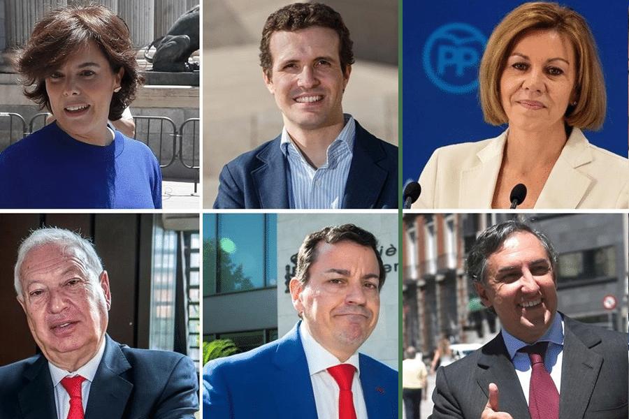 ¿Quién prefieres que sea el sucesor de Mariano Rajoy en el PP?