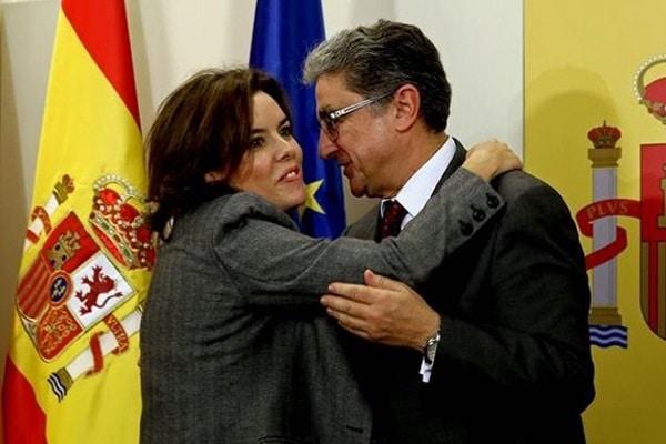 nric Millo y Soraya Sáenz de Santamaría