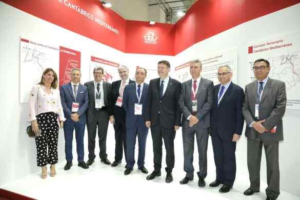 La Comunitat Valenciana se presenta en el SIL como polo de inversión logística y puerta de entrada al Sur de Europa