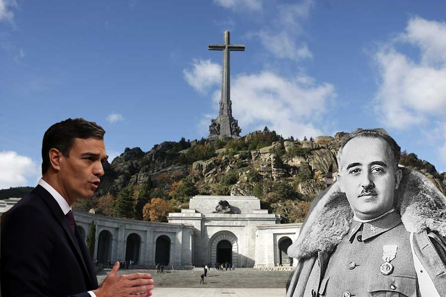 ¿Estás de acuerdo en que se exhume a Franco como pretende Pedro Sánchez?