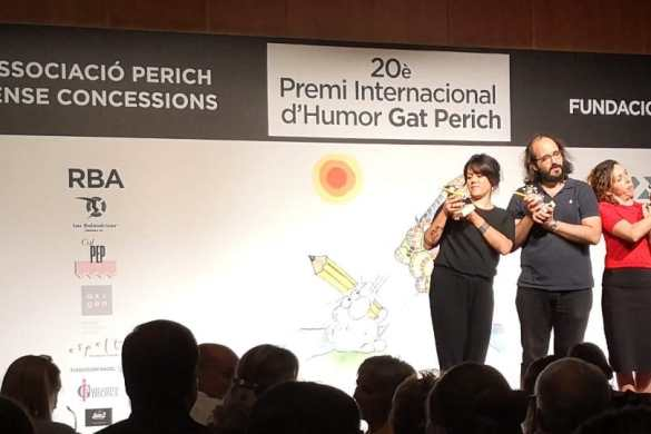 20 Premio Internacional de Humor Gat Perich Premiado