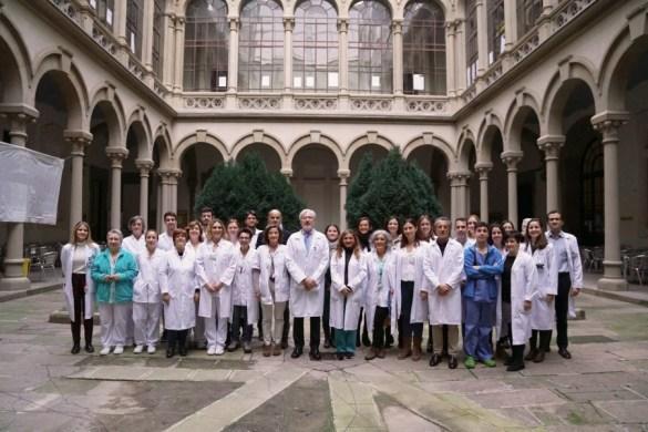 Mejor equipo de España de Cirugía General y Digestiva Hospital Clinic. En la foto el director Dr. de Lacy con su equipo