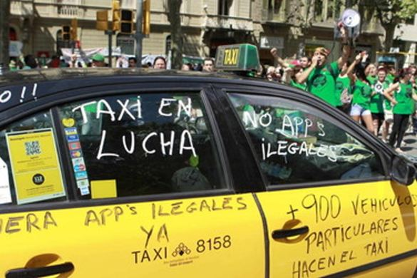 Taxi o VTC, ¿quién opinas que tiene la razón?