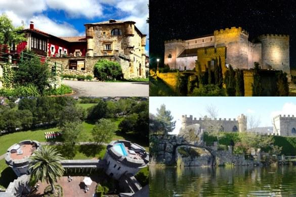 5 Castillos en España para dormir como un Rey