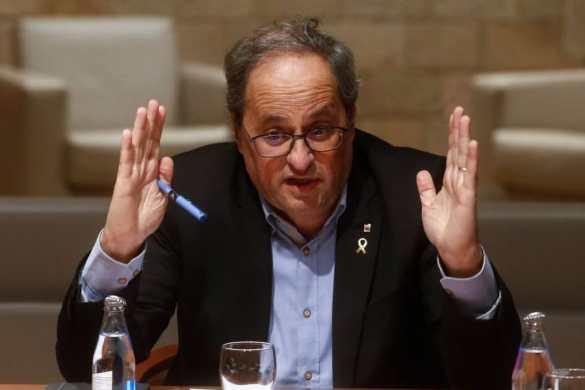 ¿Debe ser destituido mañana Torra como President de la Generalitat?