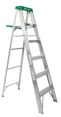 Escalera de tijera y extensi n keller materiales el topollo - Materiales para escaleras ...