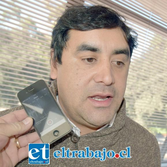 Claudio Paredes, Secpla de San Felipe.