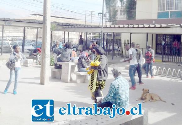 Hasta el momento sesenta ciudadanos haitianos han solicitado regresar a su país, acogiéndose a los beneficios de la denominada 'Operación Retorno'. (Foto archivo).