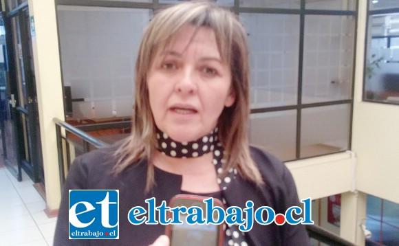 Concejal Patricia Boffa Casas.