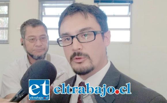 Fiscal de Delitos Sexuales del Ministerio Público de San Felipe, Alejandro Bustos Ibarra.