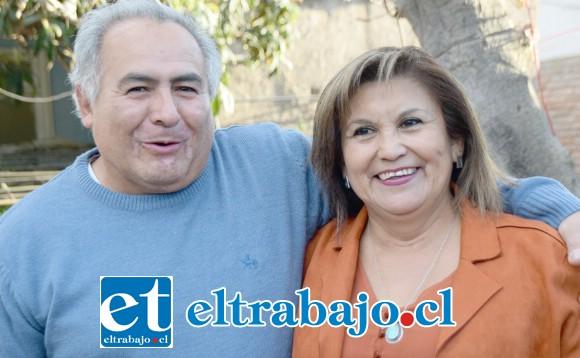 Jaime Puentes y Gloria Aguirre, organizaron este reencuentro.