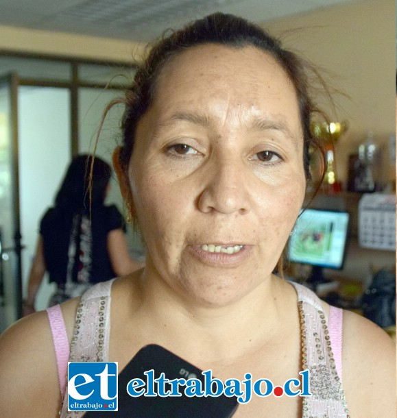 Maribel Cordero, apoderada.
