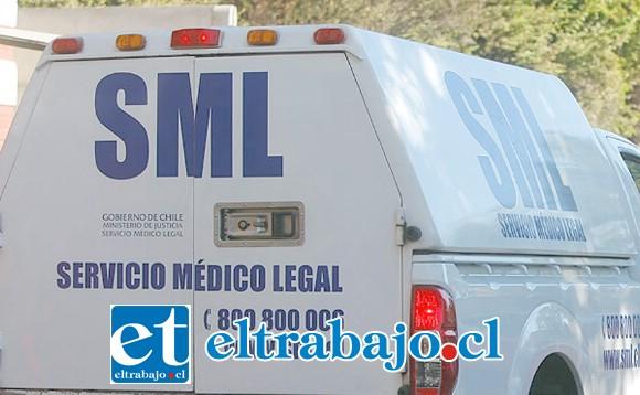 El cuerpo del malogrado fue levantado por personal del Servicio Médico Legal para la correspondiente autopsia de rigor. (Fotografía Referencial).