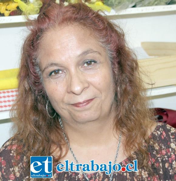 Marcela Ferreira, conocida comerciante de nuestra comuna.