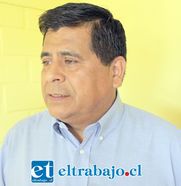 Claudio Zurita, alcalde de Santa María.