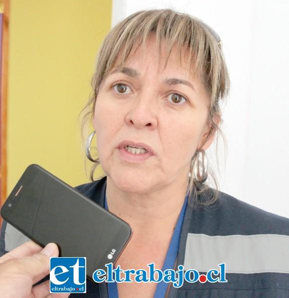 Patricia Boffa, encargada biprovincial del Serviu.