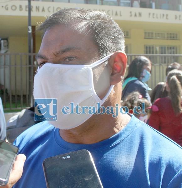 Miguel Torres, dirigente ferial.