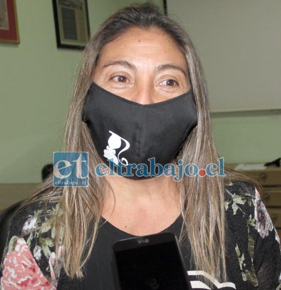 Susana Agurto, presidenta de la Junta de Vecinos San Francisco de Parrasía.
