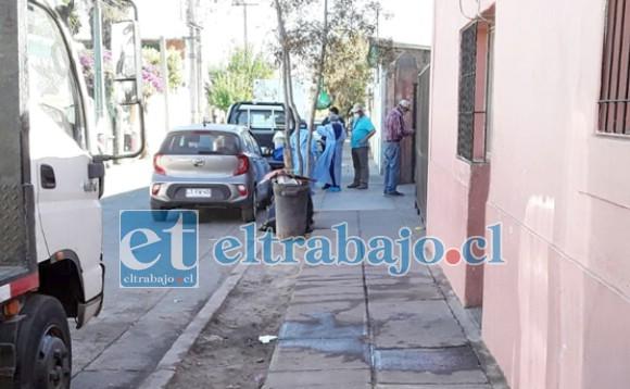 El caso quedó al descubierto la mañana de este martes, afectando a moradores de un cité ubicado en calle Uno Norte.