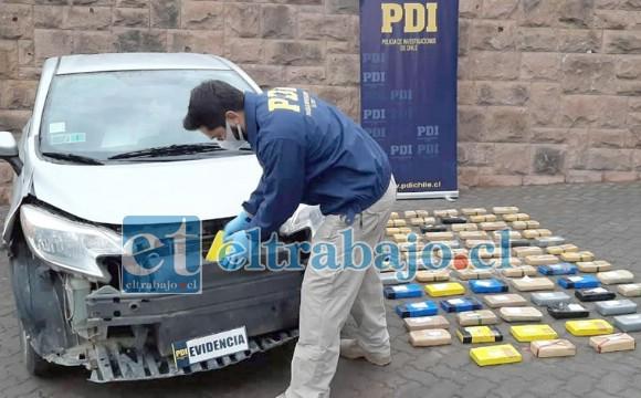 Los vehículos eran enviados a Bolivia donde eran modificados para ocultar la droga en el parachoques.