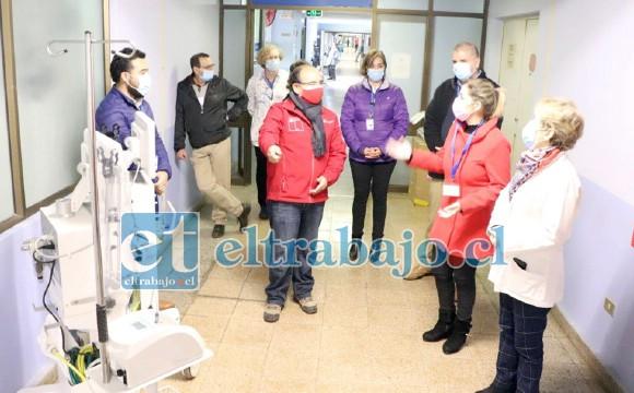 Las autoridades encabezadas por el gobernador Claudio Rodríguez, la directora de Salud, Susan Porras, además de la subdirectora de Gestión Asistencial, Dra. Iris Boisier y el director del establecimiento, Ricardo Salazar, destacaron la recepción y puesta en marcha de estos equipos.