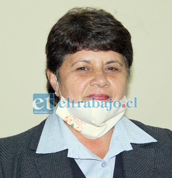 Verónica Alegría Díaz, encargada San Felipe de los subsidios en Dideco.