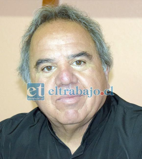 Jaime Canales, actual presidente de Artesanos La Unión.