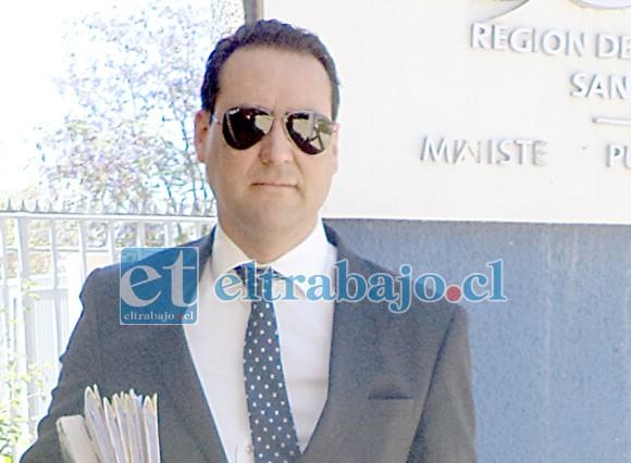 Eduardo Fajardo de la Cuba, fiscal Jefe de San Felipe.