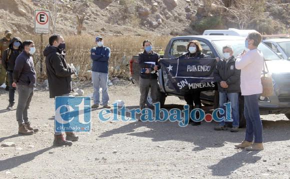 El recién asumido alcalde de Putaendo, Sergio Zamora, reafirmó el rechazo que la comunidad de Putaendo ha expresado a la gran minería en su territorio. (Foto archivo)