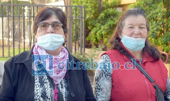 La presidenta y la tesorera de la junta vecinal de Villa San Francisco, Rosa Arias y Florencia Toro, hablaron con Diario El Trabajo para limpiar su nombre y de su directiva.