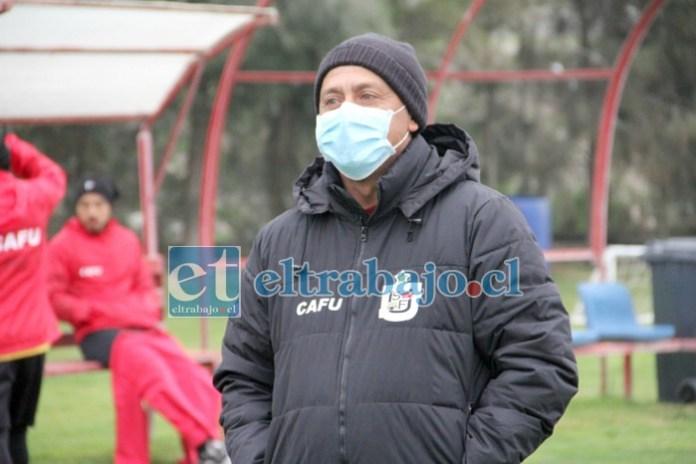 El entrenador califica de positiva la campaña de su escuadra.